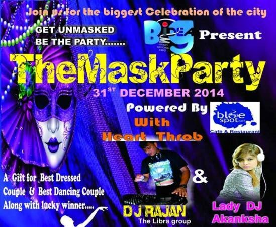 The Mask Party 31st December 2014 Ahmedabad