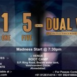 Twenty One Five with Dual Vibes & Photo Studio – New Year Eve party 2015 Ahmedabad