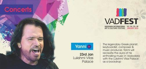 Yanni Live in Concert Vadodara at VADFEST