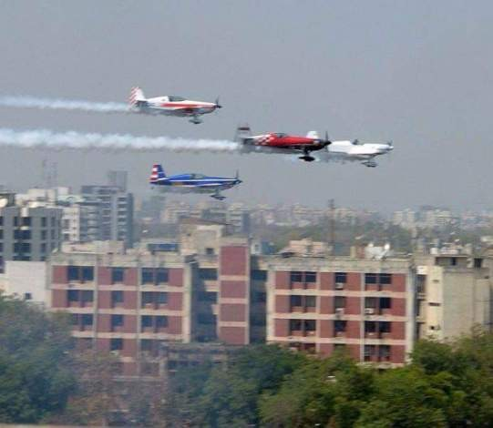 Air Show in Ahmedabad 2015