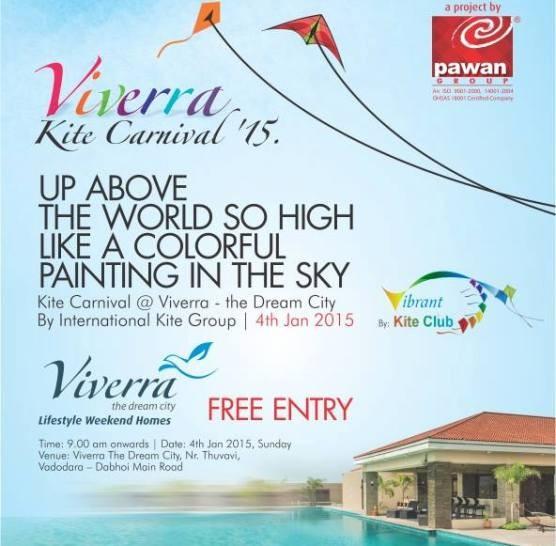 Viverra Kite Carnival 2015 in Vadodara by Pawan Group