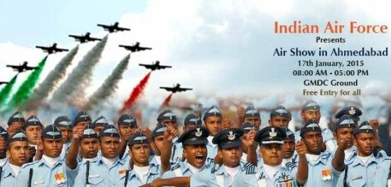 Air Show 2015 in Ahmedabad