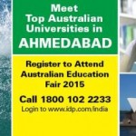 Australian Education Fair in Ahmedabad on 3rd February 2015