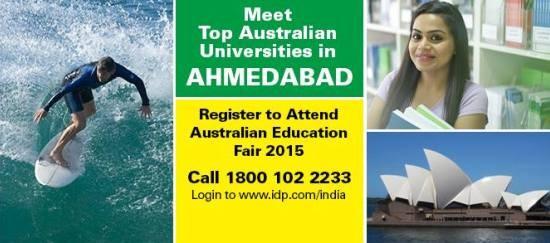 Australian Education Fair in Ahmedabad