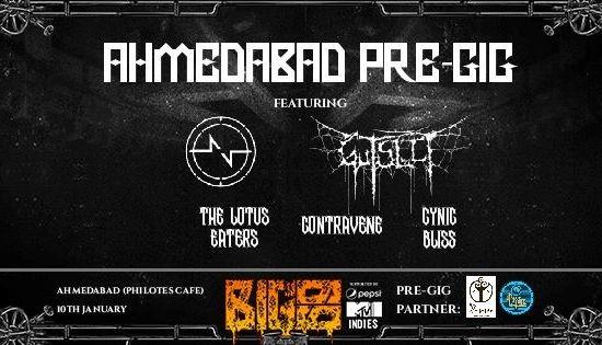 BIG69 PRE GIG Ahmedabad 2015
