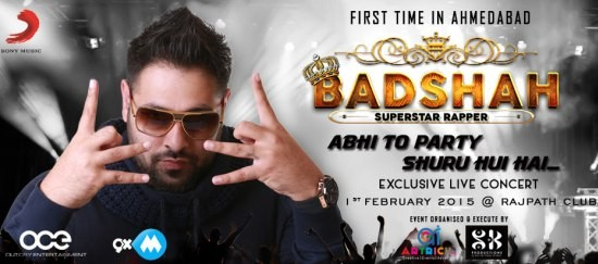 Badshah Live in Concert in Ahmedabad