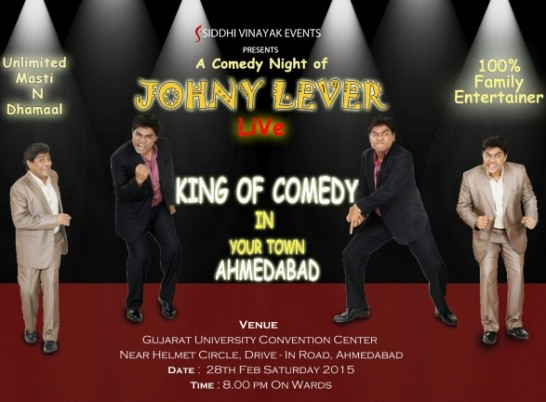 Comedy Night of Johny Lever Live King of Comedy in Ahmedabad