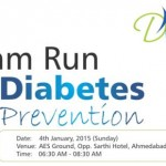 Dream Run for Diabetes Prevention with Marathon in Ahmedabad 2015 by Diabetes Care Hormone Clinic