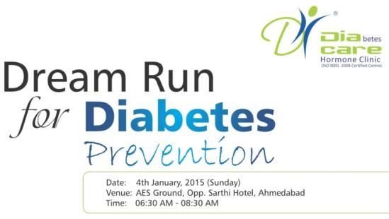 Dream Run for Diabetes Prevention with Marathon in Ahmedabad