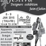 Festiva Designers Exhibition Fusion of Fashion in Rajkot at The Imperial Palace