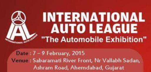 International Auto League Automobile Exhibition 2015 in Ahmedabad Gujarat