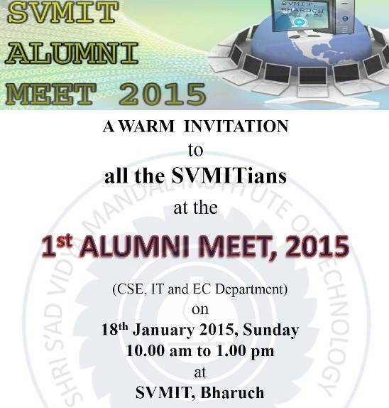 SVMIT Alumni Meet 2015