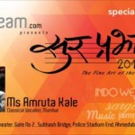 Sur Prabhat : Amruta Kale Live Music Show in Ahmedabad at 4th January 2015