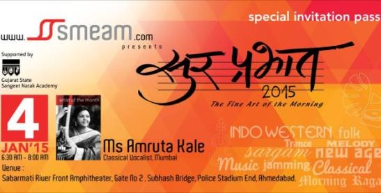 Sur Prabhat  Amruta Kale Live Music Show in Ahmedabad