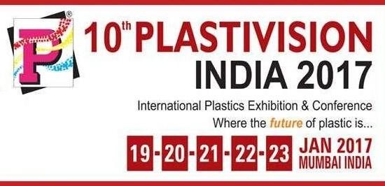 10th PLASTIVISION INDIA 2017 Mumbai