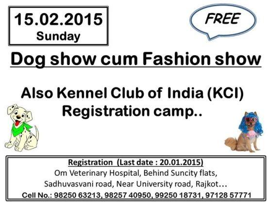 4th Dog Show Cum Fashion Show in Rajkot by Kennel Club of India (KCI) Gujarat