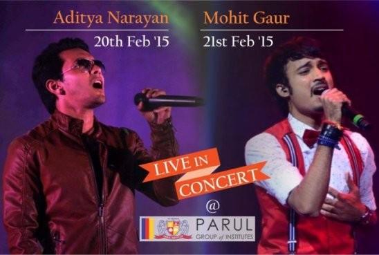 Aditya Narayan and Mohit Gaur Live in Concert in Vadodara