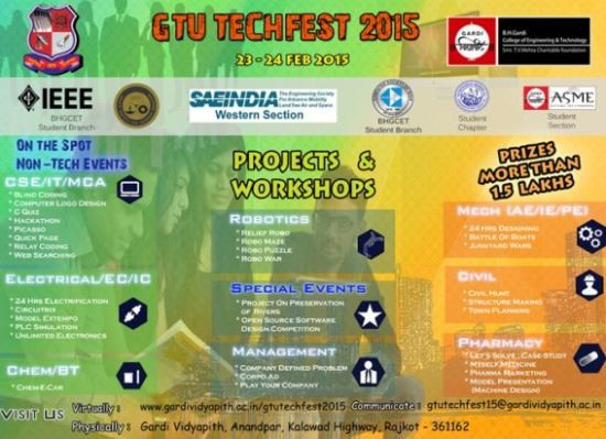 GTU TECHFEST 2015