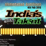 India's Got Talent (IGT) 2015 Season 6 Ahmedabad Audition on 4 February 2015