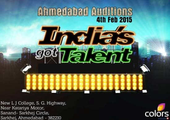 India's Got Talent 2015 Season 6 Ahmedabad Audition