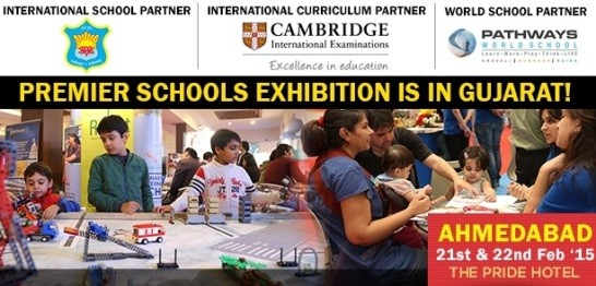 India & International Premier Schools Exhibition at Ahmedabad