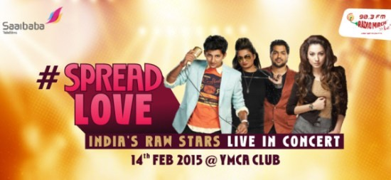 India's Raw Stars Live in Concert in YMCA Ahmedabad
