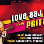Love Aaj Kal Live Concert with Pritam Chakraborty in Ahmedabad on 20 February 2015