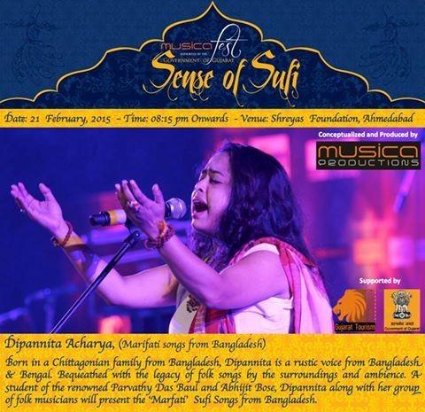 Musica Fest - Sense of Sufi in Ahmedabad 2015