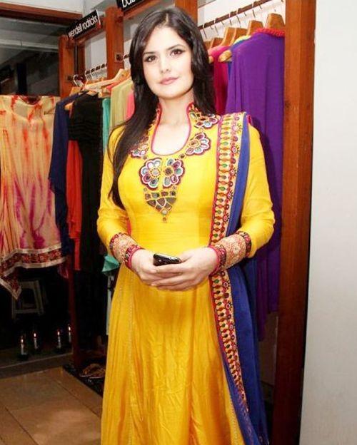 Zareen Khan in Ahmedabad for Inauguration of Laxmi SkyCity Apartments
