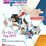 1st Med & Health Exhibition Ahmedabad 2015 – Insight into Health Care