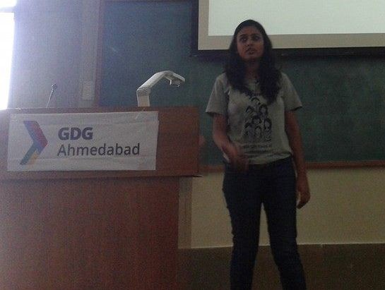 Aditi Gupta at Ahmedabad GDG Ahmedabad 2015 Photos