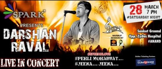 Darshan Rawal Live Concert in Anand