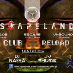 ESCAPELAND Club Reload with DJ ALICE at Vadodara on 28th March 2015