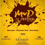 Friends Club Presents MUD Festival 2015 Holi Party in Surat Gujarat at Rainbow Club Resort