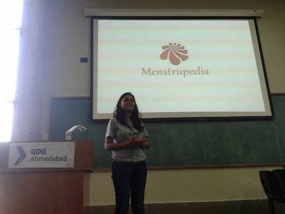 Google Developers Group (GDG) – Ahmedabad - March 2015 Aditi Gupta sharing her entrepreneurial journey