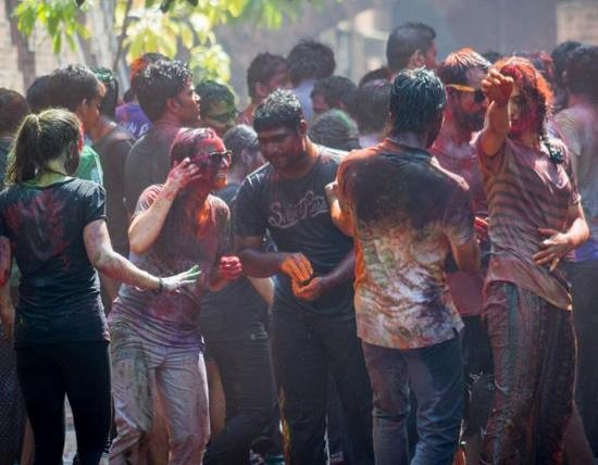 Holi Celebration at IIM Ahmedabad Pics