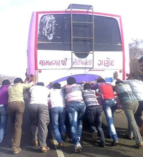 Jamnagar to Moti Paneli to Ganod Village in Gujarat - Please don't laugh
