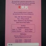 KK Ice Cream Rajkot launching Third Shop at Shadhu Vasvani Road Rajkot on 28th March 2015