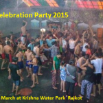 Krishna Water Park Present Dhuleti Celebration Party 2015 with Rain Dance in Rajkot on 6th March
