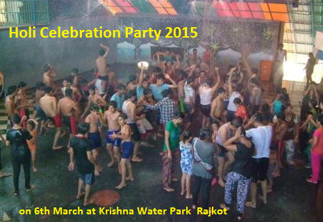 Krishna Water Park Present Dhuleti Celebration Party 2015
