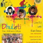 Palm Greena Club Presents Rang Barse Dhuleti Celebration 2015 DJ with Rain Dance in Ahmedabad