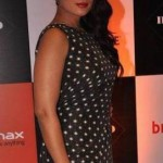 Richa Chadda Hot Bare Feet Pics in Black Polka Dots One Piece Dress – Latest Photos