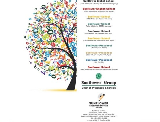 SUNFLOWER Education Systems PVT LTD Chain of Schools and Preschools based in Rajkot Gujarat India