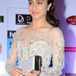 Shraddha Kapoor in Short One Piece Dress at HT Mumbai's Most Stylish 2015