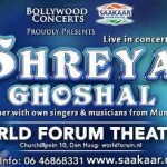 Shreya Ghosal in Den Haag NL – Shreya Ghosal Live in Concert at World Forum Theater Den Haag
