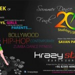 Summer Dance Funk 2015 at Varachha Surat by Krazy Steps Dance Zone