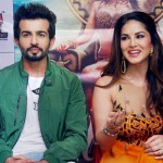 Sunny Leone and Jay Bhanushali in Surat for promotes of Ek Paheli Leela Movie 2015