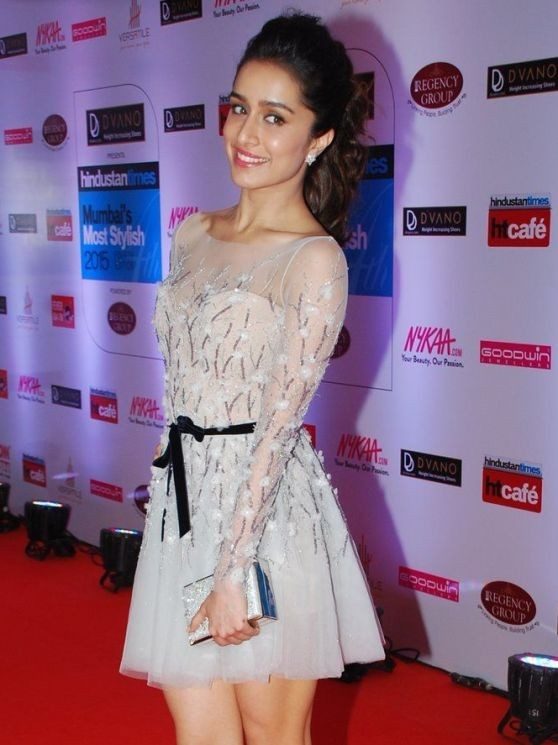 shraddha Kapoor HT Mumbai's Most Stylish 2015
