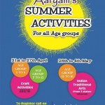 Aaryam's Summer Activities 2015 at Ahmedabad on 28th April to 4th May
