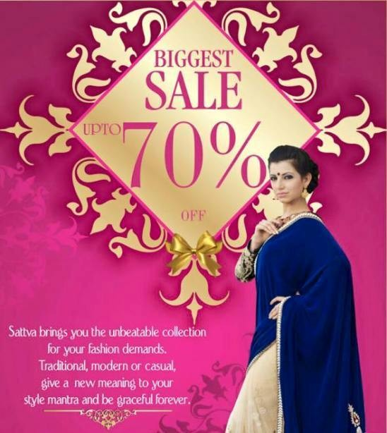 Biggest Bridal Sale in Ahmedabad by Sattva Store